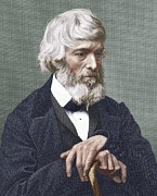 French Revolution Prints - Thomas Carlyle, Scottish Author Print by Sheila Terry