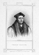 Martyr Metal Prints - Thomas Cranmer (1489-1556) Metal Print by Granger