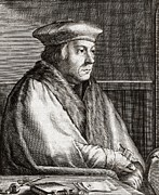 Protestantism Prints - Thomas Cromwell, English Statesman Print by Middle Temple Library