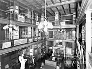 Thomas Alva Edison Photos - Thomas Edisons Library by Science Source