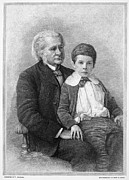 Grandson Prints - Thomas H. Huxley (1825-1895) Print by Granger