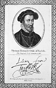 Thomas Howard (1536-1572) Print by Granger