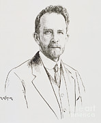 Featured Metal Prints - Thomas Hunt Morgan, American Geneticist Metal Print by Science Source