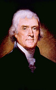 Jt History Photos - Thomas Jefferson 1743-1826, U.s by Everett