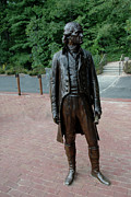 Thomas Jefferson Art - Thomas Jefferson at Monticello by LeeAnn McLaneGoetz McLaneGoetzStudioLLCcom