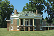 Thomas Jefferson Prints - Thomas Jeffersons Poplar Forest Print by Teresa Mucha