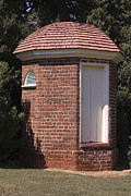 Poplar Forest Photo Metal Prints - Thomas Jeffersons Privy Metal Print by Teresa Mucha