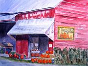 Pumpkins Originals - Thomas Market by Lynne Reichhart