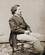 Cartoonist Photo Prints - Thomas Nast 1840-1902, Created Cartoons Print by Everett