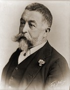 Cartoonist Photo Prints - Thomas Nast 1840-1902, During His Later Print by Everett