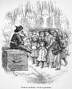 Christmas Eve Metal Prints - Thomas Nast: Christmas Metal Print by Granger