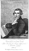 Enlightenment Posters - Thomas Paine (1737-1809) Poster by Granger