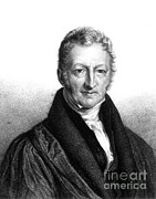 Political-economic Prints - Thomas Robert Malthus, English Scholar Print by Science Source