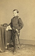 Mathew Photos - Thomas Tad Lincoln 1853-1871, Youngest by Everett