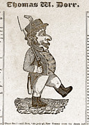 Thomas Wilson Dorr. Caricature Of Dorr Print by Everett