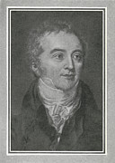 British Portraits Framed Prints - Thomas Young, British Physicist Framed Print by Science, Industry & Business Librarynew York Public Library