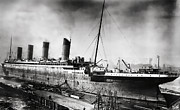 1912 Photos - Thompson Drydock - Titanic by Chris Cardwell