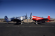 Thompson Trophy Goodyear F2g Corsair Reunion Falcon Field Arizona December 27 2011 Print by Brian Lockett