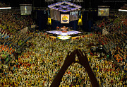 Psu Posters - THON Diamonds Up Poster by Michael Misciagno