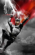 Thor Framed Prints - Thor Framed Print by Gary Deslauriers