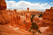 Bryce Canyon Acrylic Prints - Thors Hammer Acrylic Print by Jane Rix