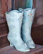 Towns Digital Art - Those Boots by Diane Wood