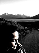 Greenworldalaska Prints - Thoughtful Girl Print by Cory Green