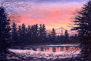 Thousand Prints - Thousand Island Sunrise Print by Richard De Wolfe