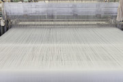 Copy Machine Prints - Threads in an Industrial Loom Print by Magomed Magomedagaev