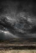 Dark Peak Prints - Threatening Skies Print by Andy Astbury