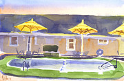 Motel Painting Prints - Three Amigos III Print by Kip DeVore
