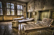 Haunted House Photo Acrylic Prints - Three beds horror Acrylic Print by Nathan Wright