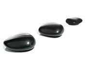 Unity Posters - Three black pebbles Poster by Richard Thomas