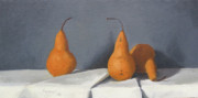 Pear Paintings - Three Bosc by John Holdway