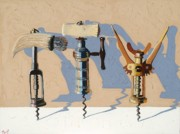 Goddess Art - Three Corkscrews Number Three by Christopher Mize
