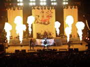 Evansville Indiana Photos - Three Days Grace On Fire by Amber Flowers