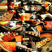 Three Fenders Print by Robert Glover