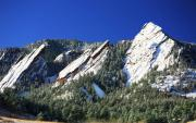 Colorado Art - Three Flatirons by Marilyn Hunt