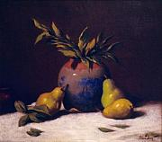 David Olander - Three Golden Pears with...