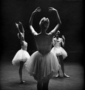 Ballet Dancers Photo Prints - Three Grace Print by Jesse Gerstein