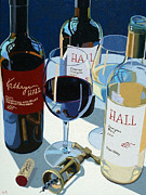 Hall Paintings - Three Hall Favorites by Christopher Mize