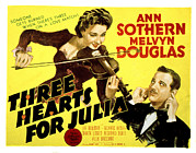 Three Hearts For Julia, Ann Sothern Print by Everett