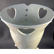 Hearts Ceramics - Three Hearts Vase by Deb Babcock