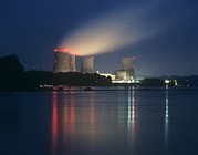 Meltdown Photos - Three Mile Island Nuclear Power Station by Martin Bond