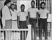 Arrests Framed Prints - Three Of The Surviving Groveland Four Framed Print by Everett