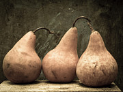 Pears Photos - Three Pear by Edward Fielding