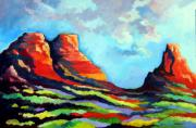 Sonora Painting Originals - Three Sisters by David  Maynard