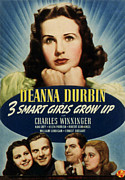 Helen Posters - Three Smart Girls Grow Up, Deanna Poster by Everett