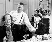 Dining Room Framed Prints - Three Stooges: Film Still Framed Print by Granger
