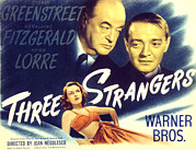 Films By Jean Negulesco Framed Prints - Three Strangers, Geraldine Fitzgerald Framed Print by Everett